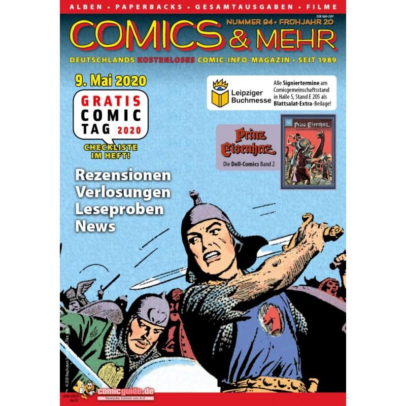 Comics&Mehr 94 - Frühjahr 20