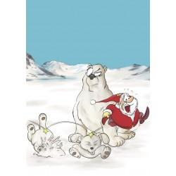 Santas große Sause, Band 1: Dicke Nase - VZA - Exlibris