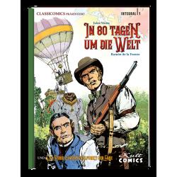Classicomics präsentiert:1 Jules Verne – In 80 Tagen um die Welt & Die Reise zum Mittelpunkt der Erde