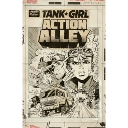 Tank Girl Action Alley VZA Exlibris