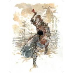 Die Türme von Bos Maury - Der Mann mit der Axt VZA - Exlibris