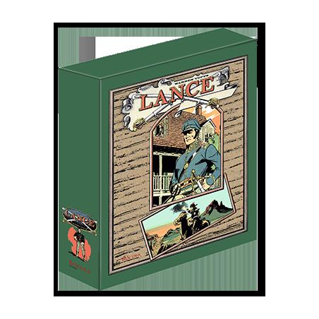 Lance  – Schuber mit allen Lance-Bänden + exlusives Exlibris