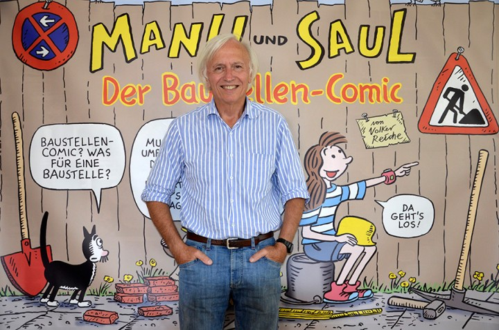 Manu und Saul von Volker Reiche